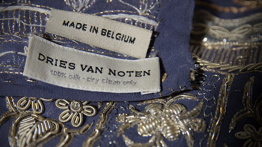 Dries Van Noten Silk Shawl